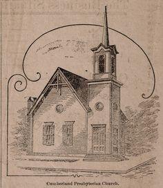 Dresden TN Cumberland Presbyterian Church 1886