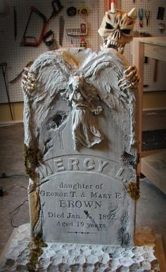 Another tombstone idea.