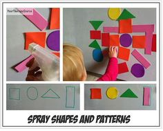 OT Activity of the Week: Spray Shapes and Patterns  -  Pinned by @PediaStaff – Please Visit http://ht.ly/63sNt for all our pediatric therapy pins