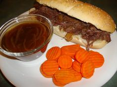 A Busy Mom's Slow Cooker Adventures: French Dip