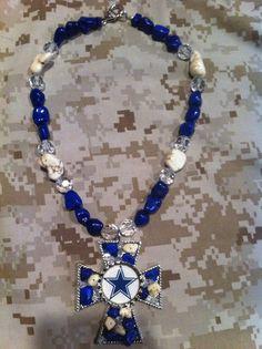 Dallas Cowboys Custom Necklace