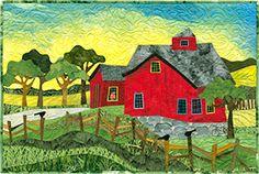 Judith Reilly fiber artist. Amazing stuff