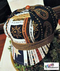 Congratulations to Kathy Plumley, this week's winner of the Your Andover contest! She made this beautiful hat using Jo Morton's Yorktown collection and assorted selvages. Click on the picture to read the heartwarming story behind Kathy's hat.