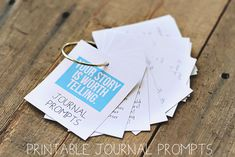 Free Journal Prompt Download via lilblueboo.com #theliljournalproject