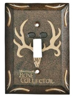 Bone Collector® Bath Collection - Single Switch Plate   Bass Pro Shops
