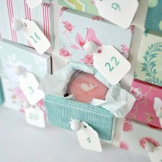 tiny little houses, lip balm, advent hous, advent calendar, calendar hous, drawer, handmad lip