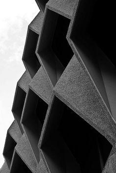 . formal, odditi, brutalism architecture