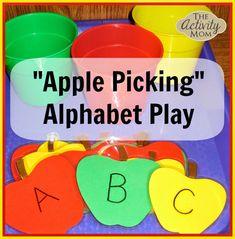 Apple Picking Alphabet Play