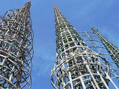 Watts Towers. Los Angeles
