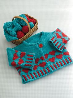 Ravelry: Heart Cardigan pattern by Grace Akhrem