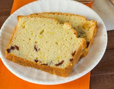 Cranberry Orange Bread - More crumb cake than bread, this is a perfect treat to have on hand for the holidays!   browneyedbaker.com