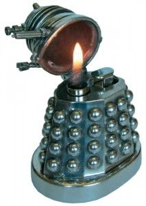 "I would run around lighting stuff on fire and screaming ""EXTERMINATE!!!"" If I had this."