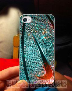nike basketball photo glitter case for galaxy s3,galaxy s4, iphone 4/4s case, iphone 5 case, iphone 5s case, iphone 5c case MUST HAVE @Heather Creswell Creswell Roberts