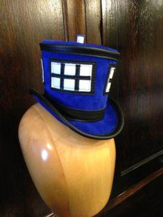 Dr Who TARDIS Top Hat