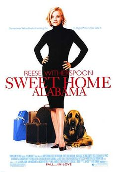 music, reese witherspoon, kiss, romantic movies, book, moviestv, homes, sweet home alabama, favorit movi