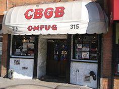 CBGB - Bowery, NYC