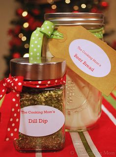 Gift Mixes in a Jar | The Cooking Mom