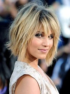 perfect bangs and layers. just a little longer. maybe a little over shoulder length