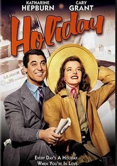 Holiday (1938) Engaged to wealthy Julia Seton (Doris Nolan), freethinker Johnny Case (Cary Grant) discovers that her family wants to remake him into their idea of the perfect son-in-law -- and he's beginning to consider compromising his values. But as he gets to know Julia's headstrong sister (Katharine Hepburn), he realizes he has more in common with her. Directed by George Cukor, this witty romantic comedy earned an Oscar nomination for Best Art Direction.