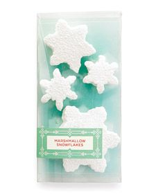 How to make Marshmallow Snowflakes. (Great homemade #christmas #gift idea!)
