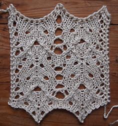 interesting blog talking about creating stitch patterns