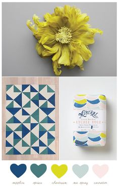 Sapphire + Chartreuse | Sweetest Occasion