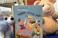 Crafts, activities, and snacks inspired by The Three Little Pigs @ Mommy and Me Book Club.