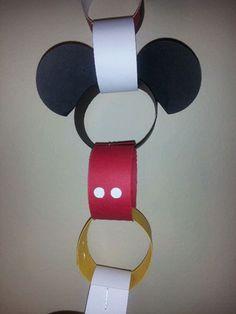 Countdown to Disneyworld chain!