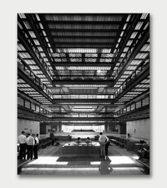 Bell Telephone Laboratories Lobby Interior | Holmdel, New Jersey Photographer: © Cervin Robinson