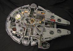 Star Wars LEGO Millennium Falcon.