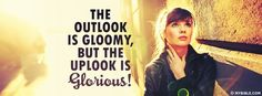 The Uplook is Glorious - Facebook Cover Photo