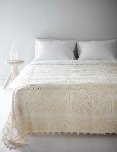 beautiful bed spread