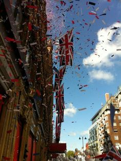 #Harrods #DiamondJubilee #Jubilee #Balloons #Flags