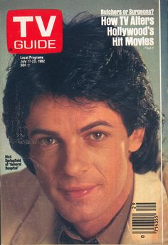 Rick Springfield on the cover of TV Guide (July 17, 1982)