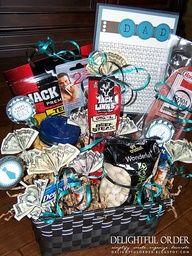 Gift basket ideas for guys