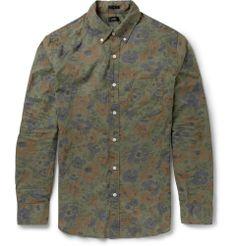 J.Crew - Printed Cotton Shirt |MR PORTER