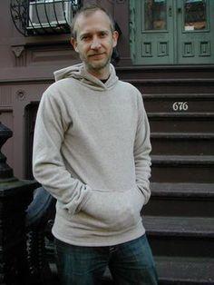 Men's FREE fleece hoodie pattern!