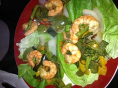 "Shrimp ""tacos""= AMAZING! And Bouari safe."
