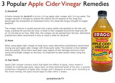Here are 4 benefits of apple cider vinegar:  1. Diabetes