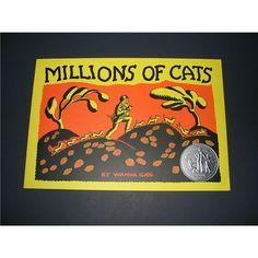 Preschool Lesson Plans on Cats Using Wanda Gag's Millions of Cats