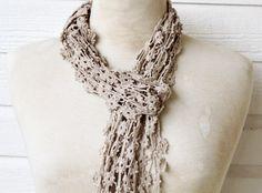skinny scarf- very cute