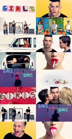 the 1975- girls.