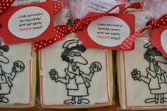 Retirement Nurse Cookies