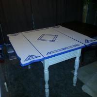 porcelain enamel table