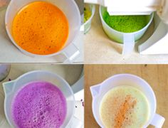 Make your own food coloring.