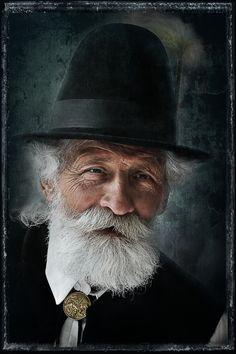 Old Gentleman by Csilla Zelko