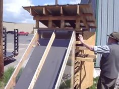How to build a solar food dehydrator - http://SurvivalistDaily.com/how-to-build-a-solar-food-dehydrator/    I love sticking it to the man, don't you?...In this case it's the electric company :)