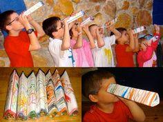 Build a kaleidoscope! via PBS Parents