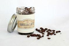 Vanilla Latte Homemade Sugar Scrub