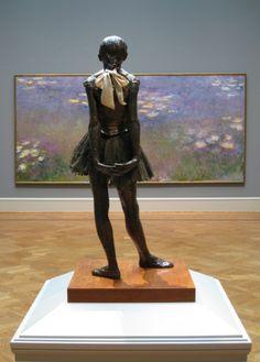 paris, dega watch, art museum, de marmotan, muse de, watch monet, sculptur, edgar degas, water lilies